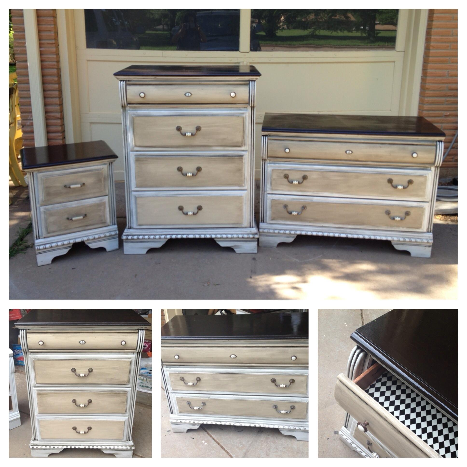 Dresser Set Do Over Nice Design